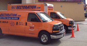 Water and Mold Damage Mitigation Vehicles